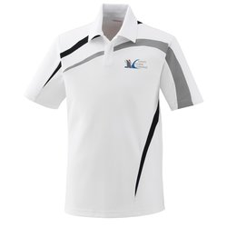 View a larger, more detailed picture of the North End Sport Color Block Polo - Men s