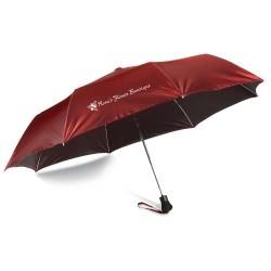 View a larger, more detailed picture of the Chameleon Auto Open Folding Umbrella - Closeout