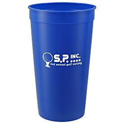 View a larger, more detailed picture of the Stadium Cup - 32 oz - Smooth - 24 hr