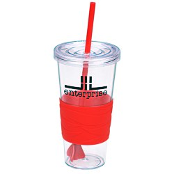 View a larger, more detailed picture of the Revolution Tumbler with Straw - 24 oz