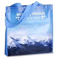 View a larger, more detailed picture of the PhotoGraFX Scapes Gusseted Tote - Mountains-Closeout