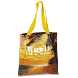 View a larger, more detailed picture of the PhotoGraFX Scapes Flat Tote - Beach - Closeout