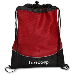 View a larger, more detailed picture of the Fitness Mesh Drawcord Sportpack - Closeout