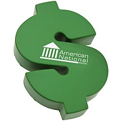 View a larger, more detailed picture of the Dollar Sign Stress Reliever - 24 hr