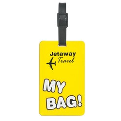View a larger, more detailed picture of the My Bag Luggage Tag - Closeout