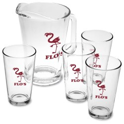 View a larger, more detailed picture of the Pitcher & Pub Glass Set