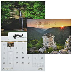 View a larger, more detailed picture of the Inspirations for Life Calendar - Window