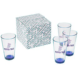View a larger, more detailed picture of the Neonware Pub Glass Set - 16 oz