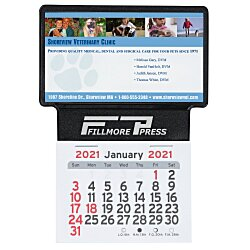 View a larger, more detailed picture of the Peel-n-Stick Calendar - Business Card Holder