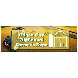 View a larger, more detailed picture of the Value Outdoor Banner - 3 x 12