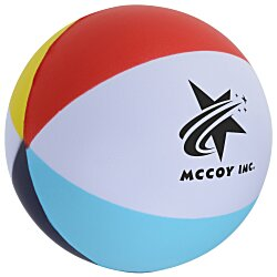 View a larger, more detailed picture of the Beach Ball Stress Ball - 24 hr