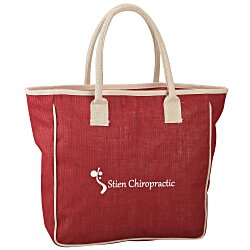 View a larger, more detailed picture of the Seville Jute Blend Tote