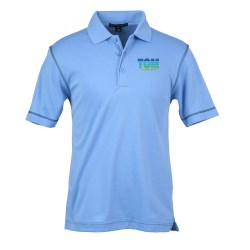 View a larger, more detailed picture of the Port Authority Silk Touch Interlock Polo - Men s
