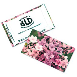 View a larger, more detailed picture of the Business Card Seed Packet - Pink Forget Me Not