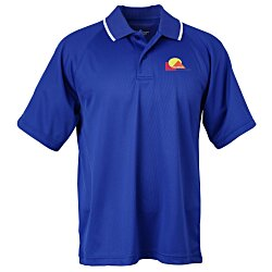 View a larger, more detailed picture of the Classic Moisture Wicking Tipped Polo - Men s