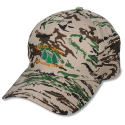 View a larger, more detailed picture of the Camouflage Cap - Embroidered