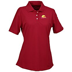 View a larger, more detailed picture of the Cool & Dry Stain-Release Performance Polo - Ladies