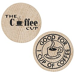 View a larger, more detailed picture of the Wooden Nickel - Coffee