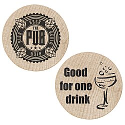 View a larger, more detailed picture of the Wooden Nickel - Drink - 24 hr