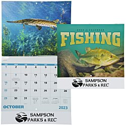 View a larger, more detailed picture of the Fishing Calendar - Stapled