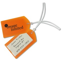 View a larger, more detailed picture of the Business Card Luggage Tag