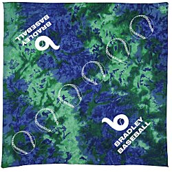 View a larger, more detailed picture of the Tie Dye Bandana