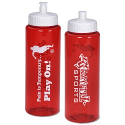 View a larger, more detailed picture of the Pain is Temporary Sport Bottle - 32 oz - Play