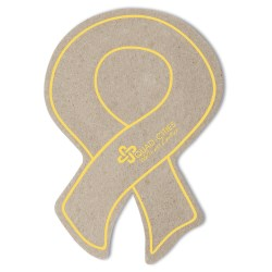 View a larger, more detailed picture of the Eco Coaster - Awareness Ribbon - Closeout