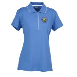 View a larger, more detailed picture of the Adidas ClimaLite Tour Jersey Polo - Ladies
