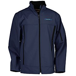 View a larger, more detailed picture of the North End 3-Layer Soft Shell Jacket - Men s