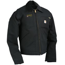 View a larger, more detailed picture of the Carhartt Duck Detroit Jacket - Blanket Lined