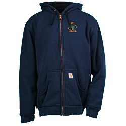 View a larger, more detailed picture of the Carhartt Thermal-Lined Hooded Zip-Front Sweatshirt