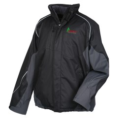 View a larger, more detailed picture of the North End Color Block Insulated Jacket - Men s