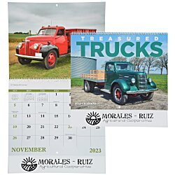 View a larger, more detailed picture of the Treasured Trucks Calendar - Spiral