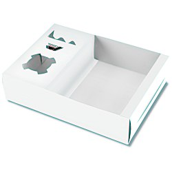 View a larger, more detailed picture of the Snack Box Tray - White