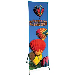 View a larger, more detailed picture of the Value Banner with Pop-Up Stand