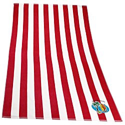 View a larger, more detailed picture of the Cabana Stripe Towel