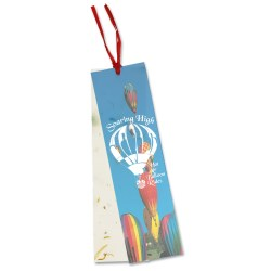 View a larger, more detailed picture of the Seeded Message Bookmark - Chili Pepper