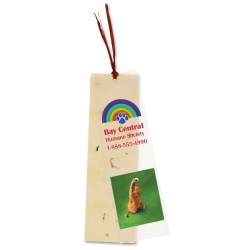 View a larger, more detailed picture of the Seeded Message Bookmark - Carrot