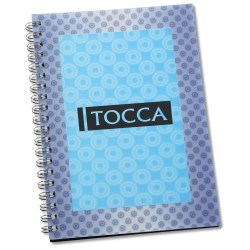 View a larger, more detailed picture of the 3D Spiral Notebook - Rectangle