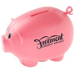 View a larger, more detailed picture of the Action Piggy Bank - Opaque
