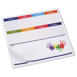 View a larger, more detailed picture of the Notepad Mouse Pad - Weekly Planner