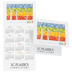 View a larger, more detailed picture of the Stunning Stages Calendar Greeting Card