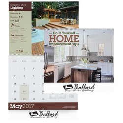 View a larger, more detailed picture of the Home Improvement Tips Calendar