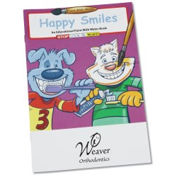 View a larger, more detailed picture of the Paint with Water Book - Happy Smiles