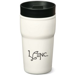 View a larger, more detailed picture of the Alabaster Tiered Double Wall Tumbler - 10 oz