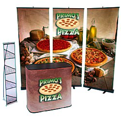 View a larger, more detailed picture of the Case to Podium Floor Display - Triple Kit