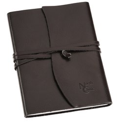 View a larger, more detailed picture of the Americana Leather-Wrapped Journal