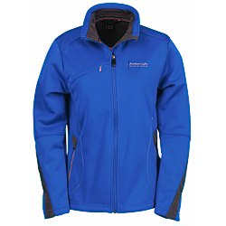 View a larger, more detailed picture of the North End Sport Bonded Fleece Jacket - Ladies
