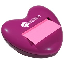 View a larger, more detailed picture of the Post-it&reg Pop-Up Notes Dispenser - Heart